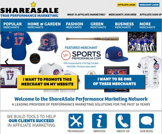 ShareASale Ad Network