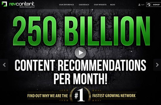 Revcontent Ad Network - Best Advertising Networks for Monetizing your Blog in 2019